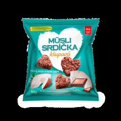 Мини-снеки мюсли кокос/шоколад 2GO Semix