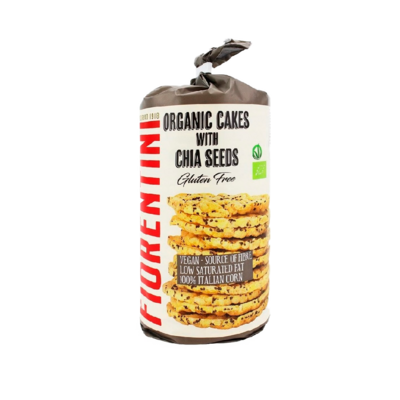 Хлебцы Fiorentini кукурузные с семенами чиа, без глютена