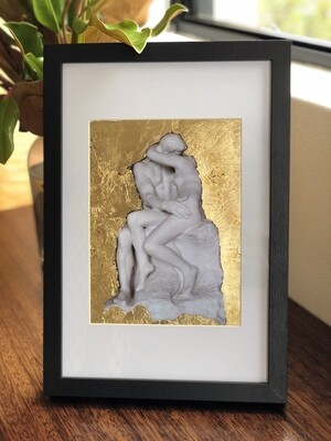 Lot 2 - The Kiss by Auguste Rodin