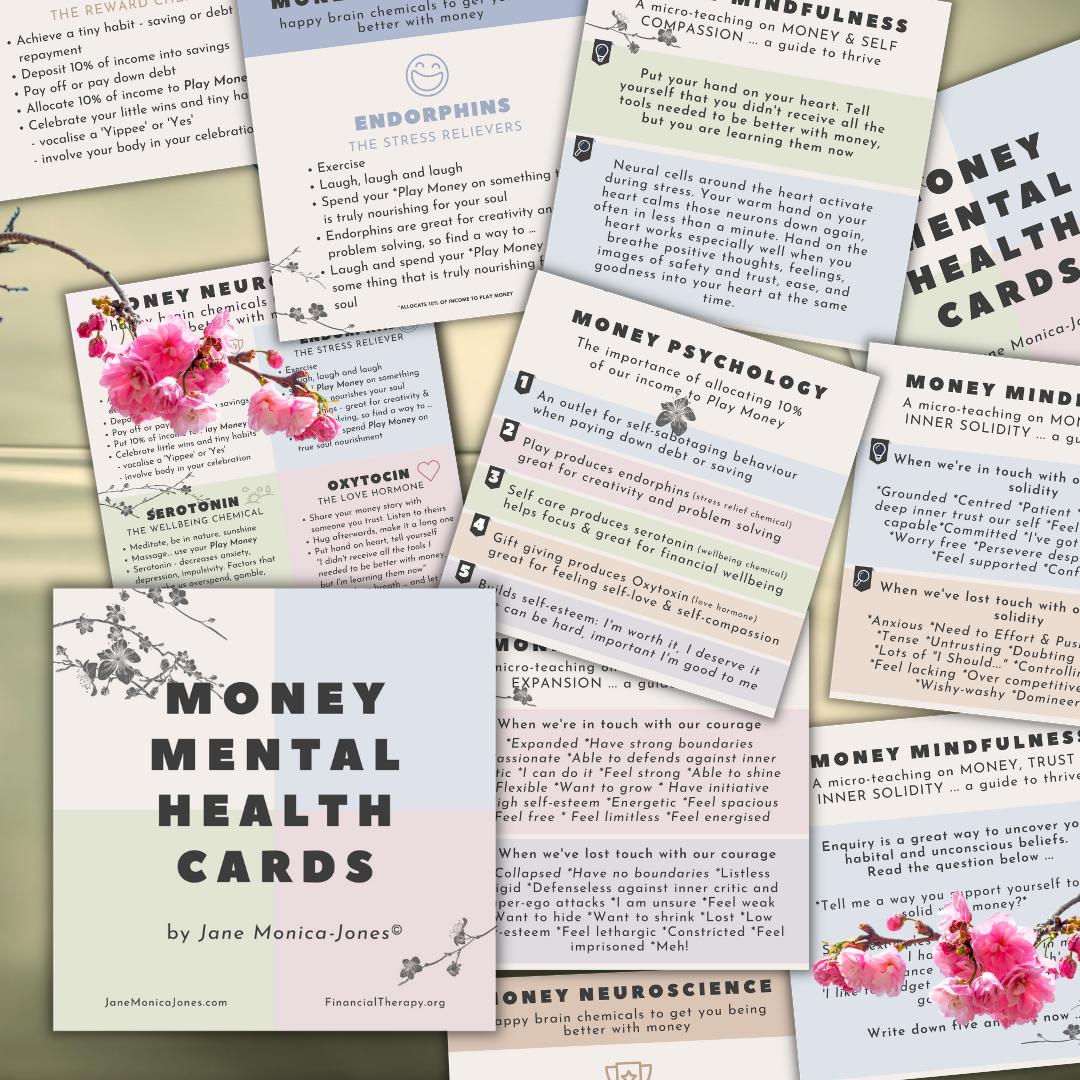 Money Mental Health Cards