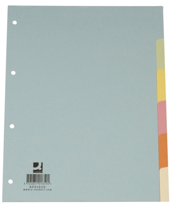 Farbregister Connect A4  6 od. 10 tlg. Karton