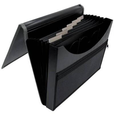 Fächermappe Connect PP/Karton für A4