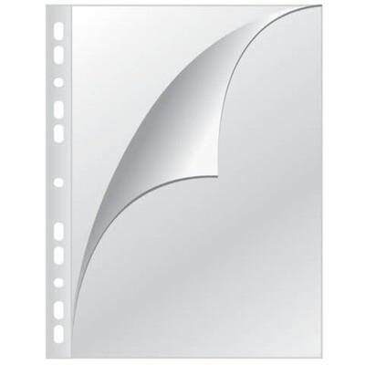 Klarsichthüllen A4 Q-Connect seitlich oben offen