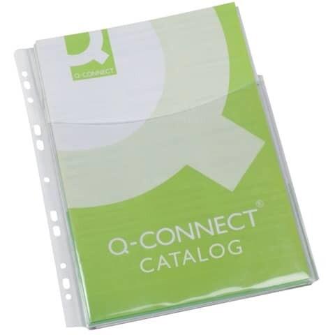 Klarsichthülle A4 Q-Connect für Kataloge