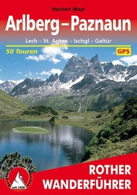 Rother Wanderführer Arlberg-Paznaun