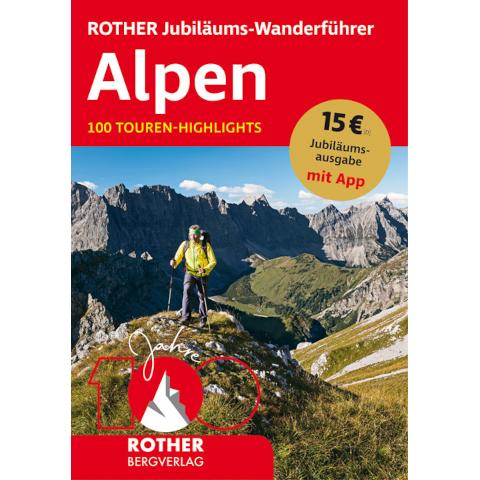 Rother Jubiläums Wanderführer Alpen