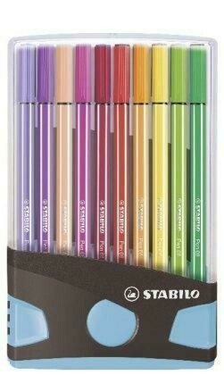 Fasermaler Stabilo Pen 6820 Kunsstoff Klappbox