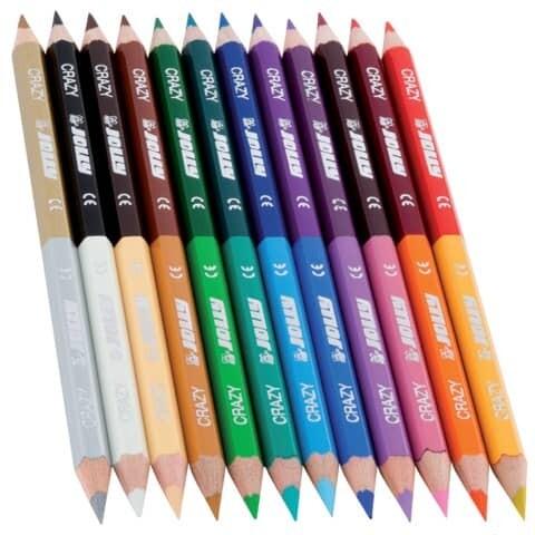 Farbstifte 12 Stück DUO JOLLY 3CRAZY