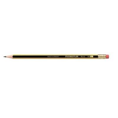 Bleistift Staedtler Noris 122 HB m. Radiergummi