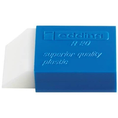 Plastikradierr weiß Edding R20