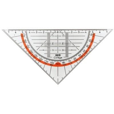 Geo Dreieck Aristo 16cm m. Griff
