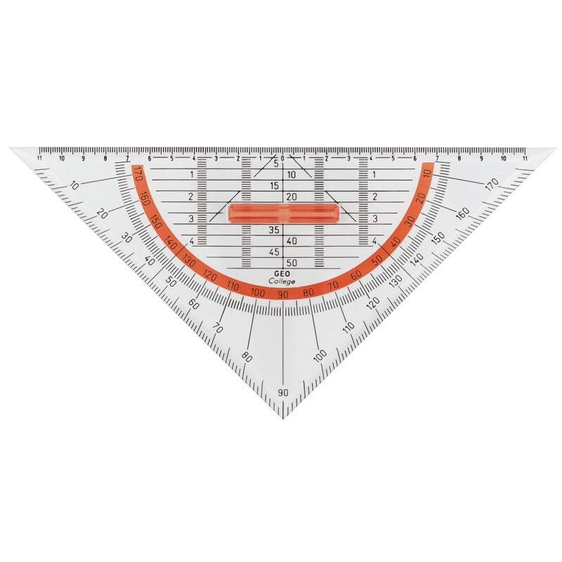 Geo Dreieck Aristo 25cm m. abnehmbarem Griff