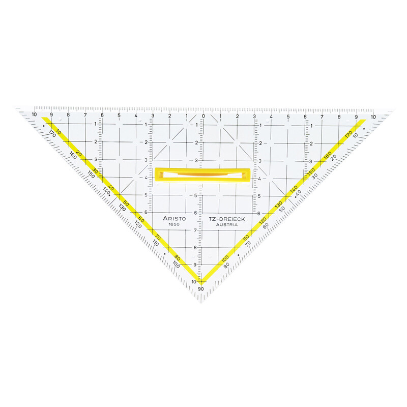 TZ-Dreieck Aristo 22,5cm m. abnehmbaren Griff