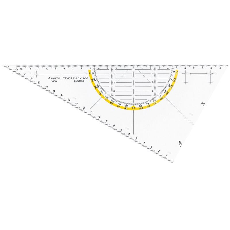 TZ-Dreieck Aristo ungleichschenklig 60° 26 cm