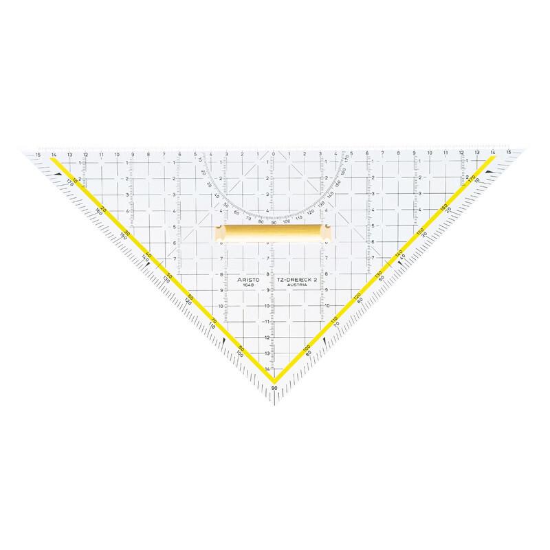 TZ-Dreieck Aristo m.Holzgriff 32,5cm