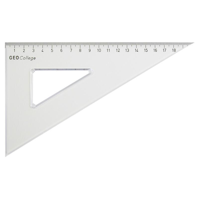 Zeichendreieck Aristo ungleichschenklig 60° 23cm