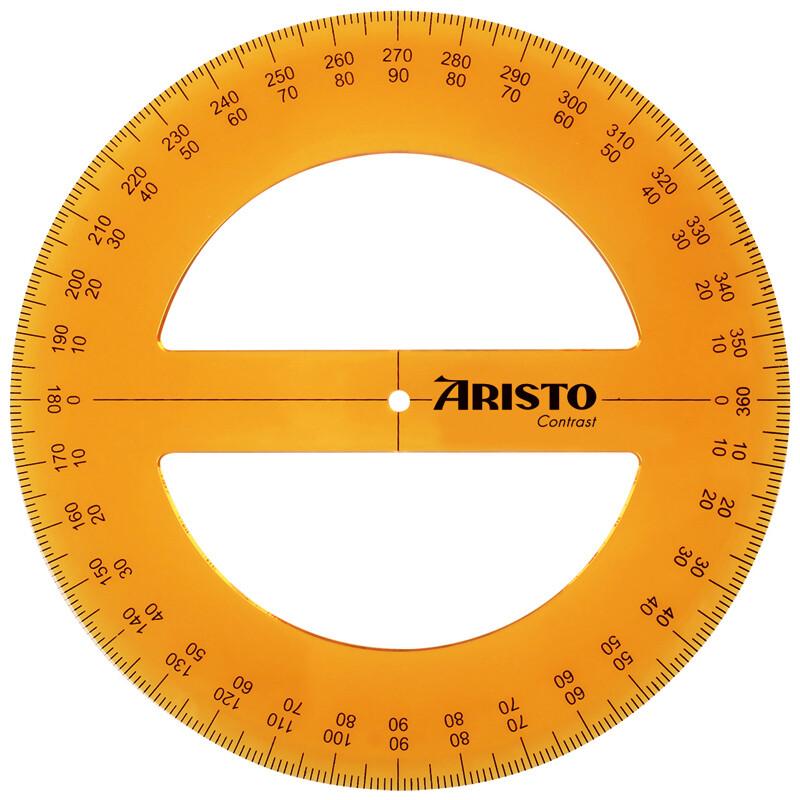 Contrast Vollkreiswinkelmesser 360° Aristo