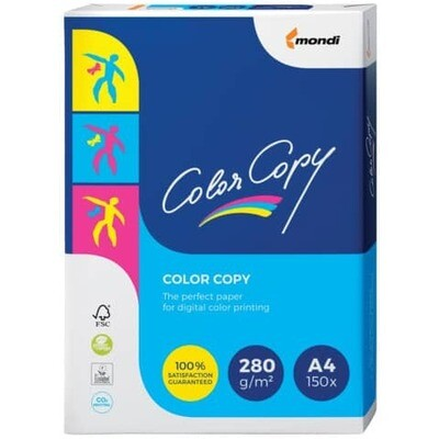 Farblaser Kopierpapier A4 Color Copy 280g.