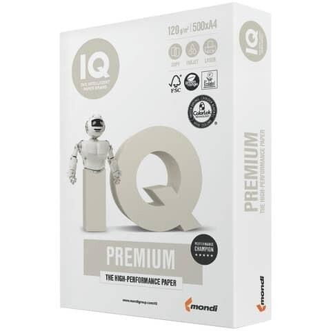 Kopierpapier A4 120g IQ PREMIUM