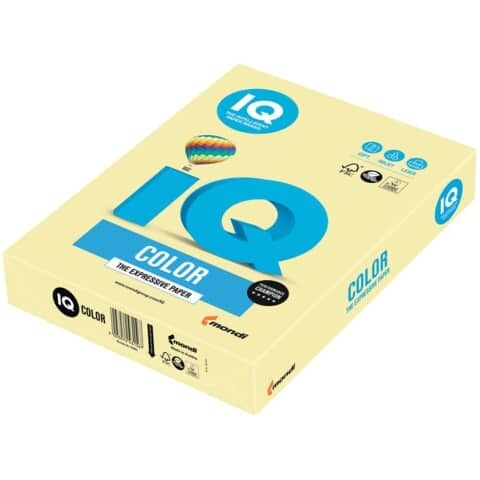 Kopierpapier A3 160g IQ Color Pastellfarben