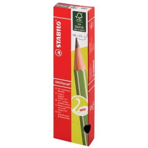 Bleistift Stabilo GREENgraph HB