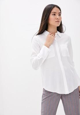 Белая рубашка со льном