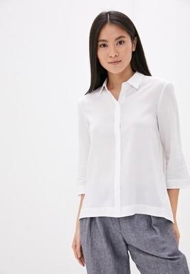 Льняная рубашка в стиле оверсайз