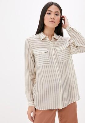 Рубашка в полоску Baon