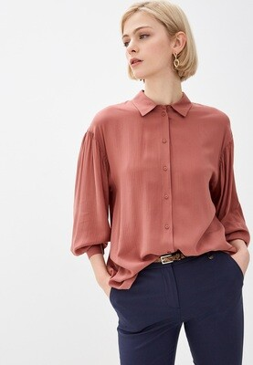 Рубашка с пышными рукавами Baon