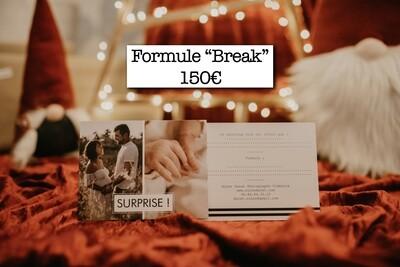 Carte cadeau - Séance photo - Formule