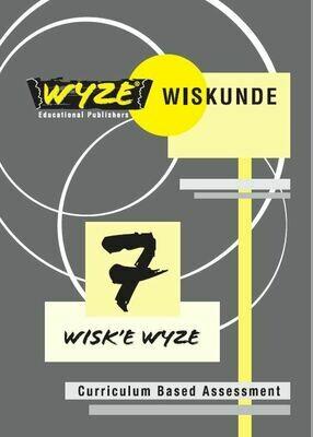 WYZE WISKUNDE GRAAD 7 WERKBOEK (ANTWOORDE INGESLUIT)(Plus: Courier cost fixed @ R20,00)