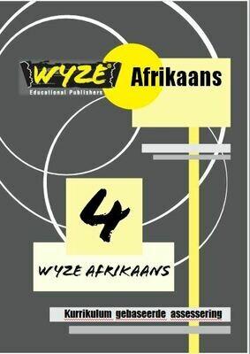 WYZE AFRIKAANS GRAAD 4 WERKBOEK (Plus: Courier cost fixed @ R20,00)