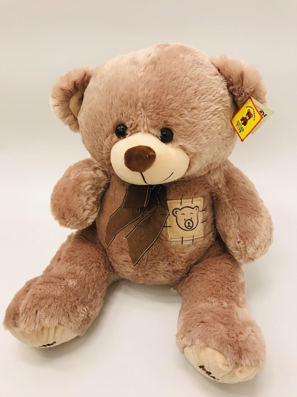 Медведь плюшевый среднего размера