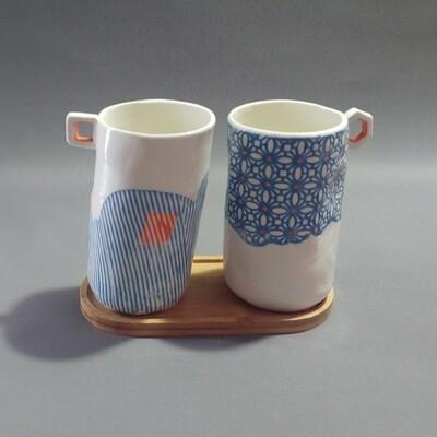 Duo de grandes tasses