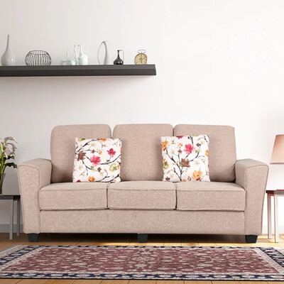 Progro Sofa Set in Beige Color