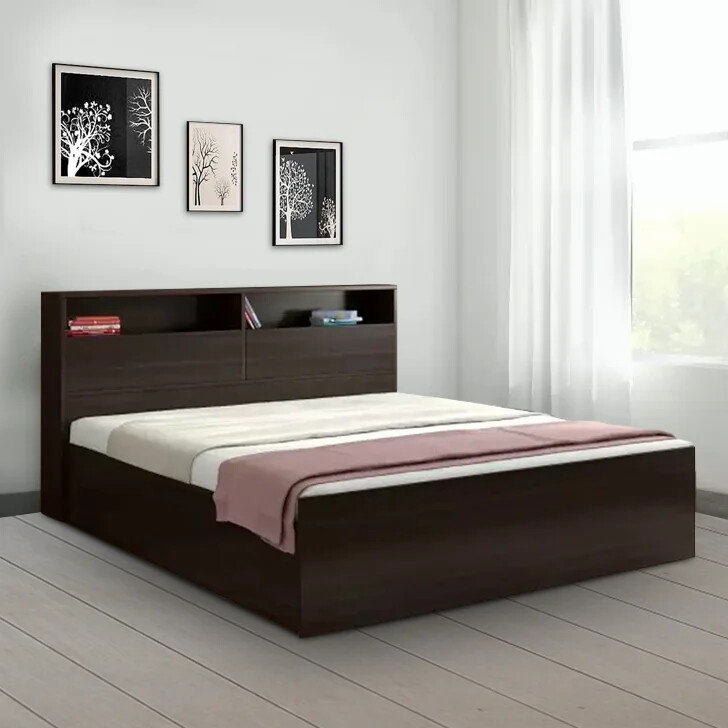 Sibal Bed in Brown Color