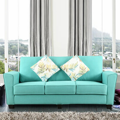 Global Sofa Set in Green Color