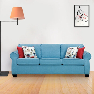 Unique Sofa Set in Blue Color