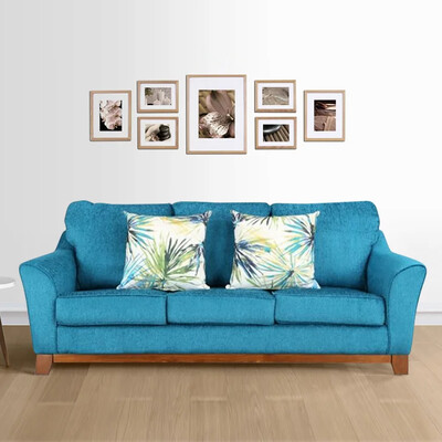 Static Sofa Set in Blue Color