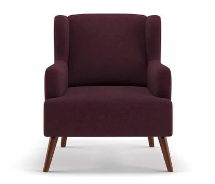 Quick Arm Chair in Maroon Color