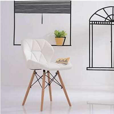 Romeo Accent Chair in White Color