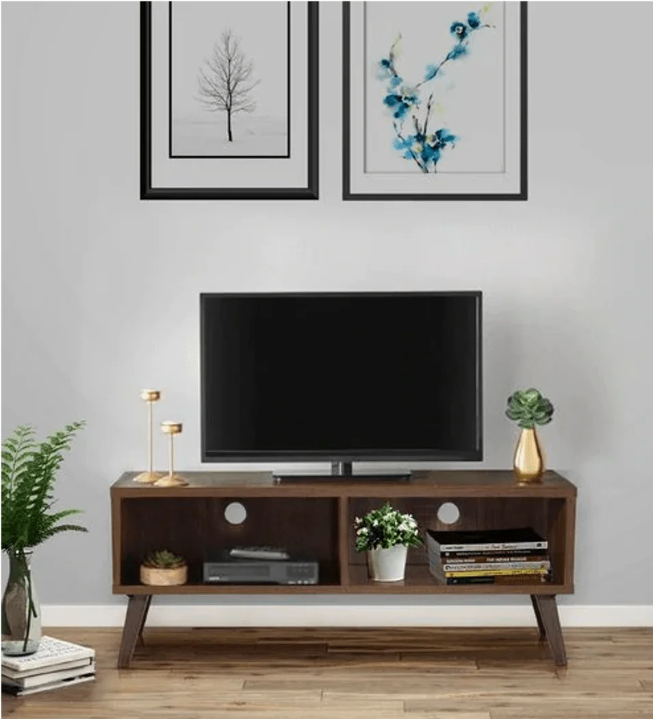 Ameo Tv Unit in Brown Color
