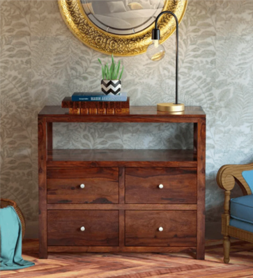 Kry Chest of Drawers in Brown Color