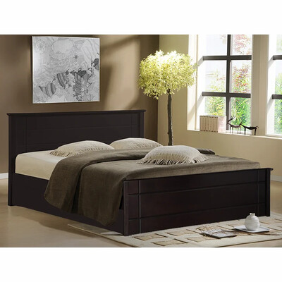 Stunning Bed in Brown Color