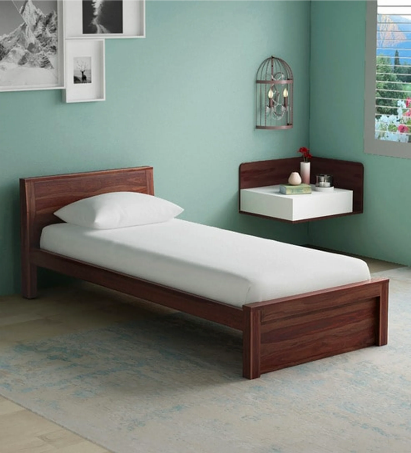 Nivo Bed in Brown Color