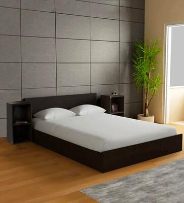 Ren Bed in Brown Color