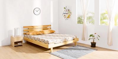Apollo Bed in Brown Color