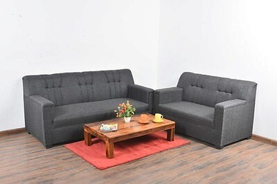Lesto Sofa Set in Grey Color