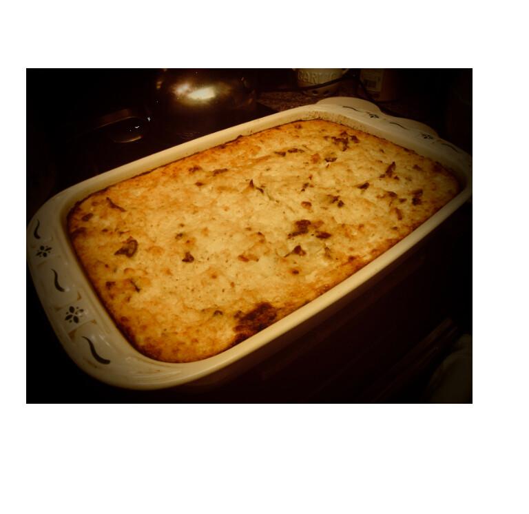 Pastrami Kugel