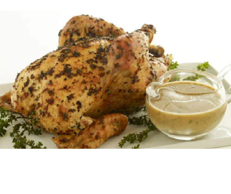 Whole Roasted Chicken with Rosemary And Potatoes